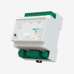 Controlador de habitaciones marca Robotbas modelo RC7610