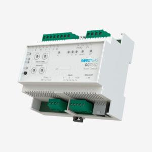 Controlador de habitaciones marca Robotbas modelo RC7660