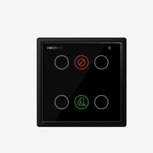 Indicador de servicio de habitaciones de 6 funciones marca Robotbas modelo SD7336 JLS B