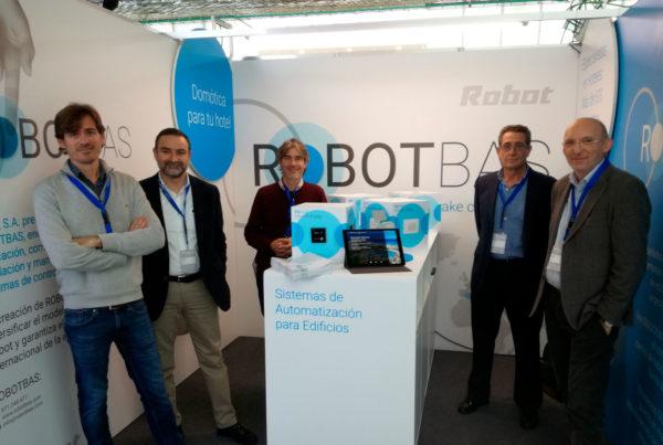 robotbas at the encuentros proveedores hosteltur