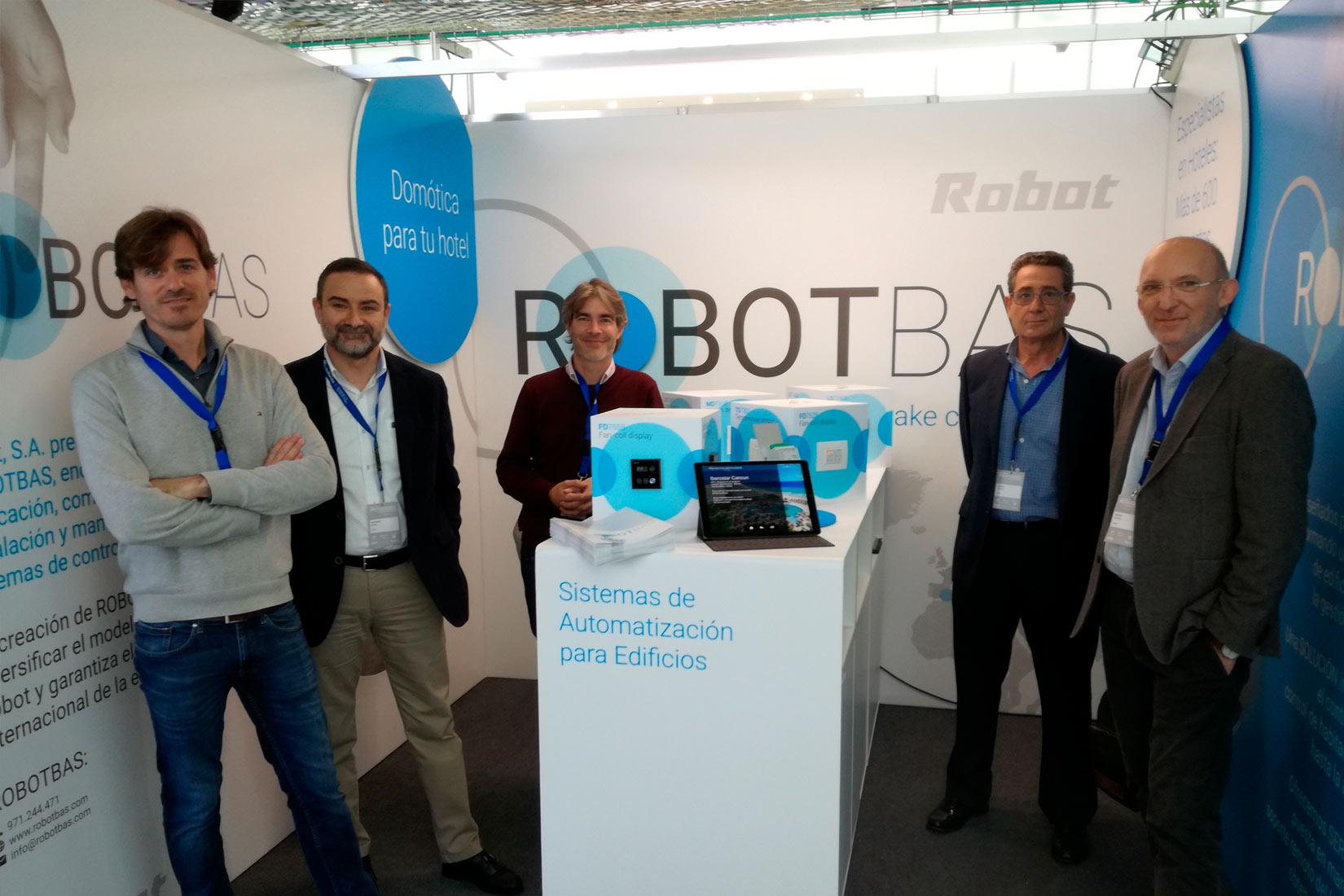 Todas las novedades de ROBOTBAS presentes en los Encuentros Proveedores de Hosteltur
