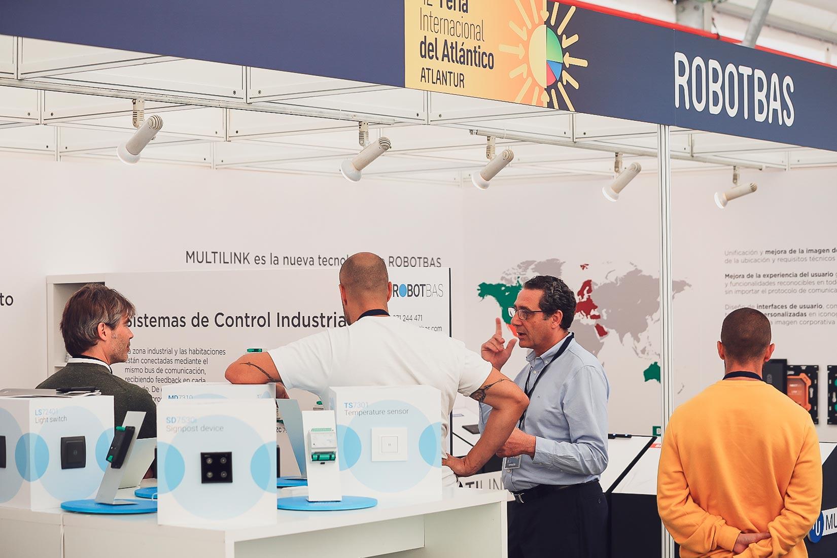 Great success of ROBOTBAS at the Atlantur Fair