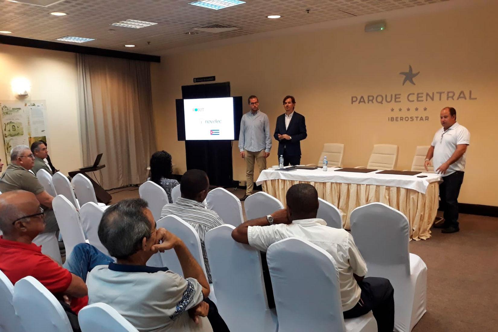 Realizamos una formación sobre ahorro energético en Cuba