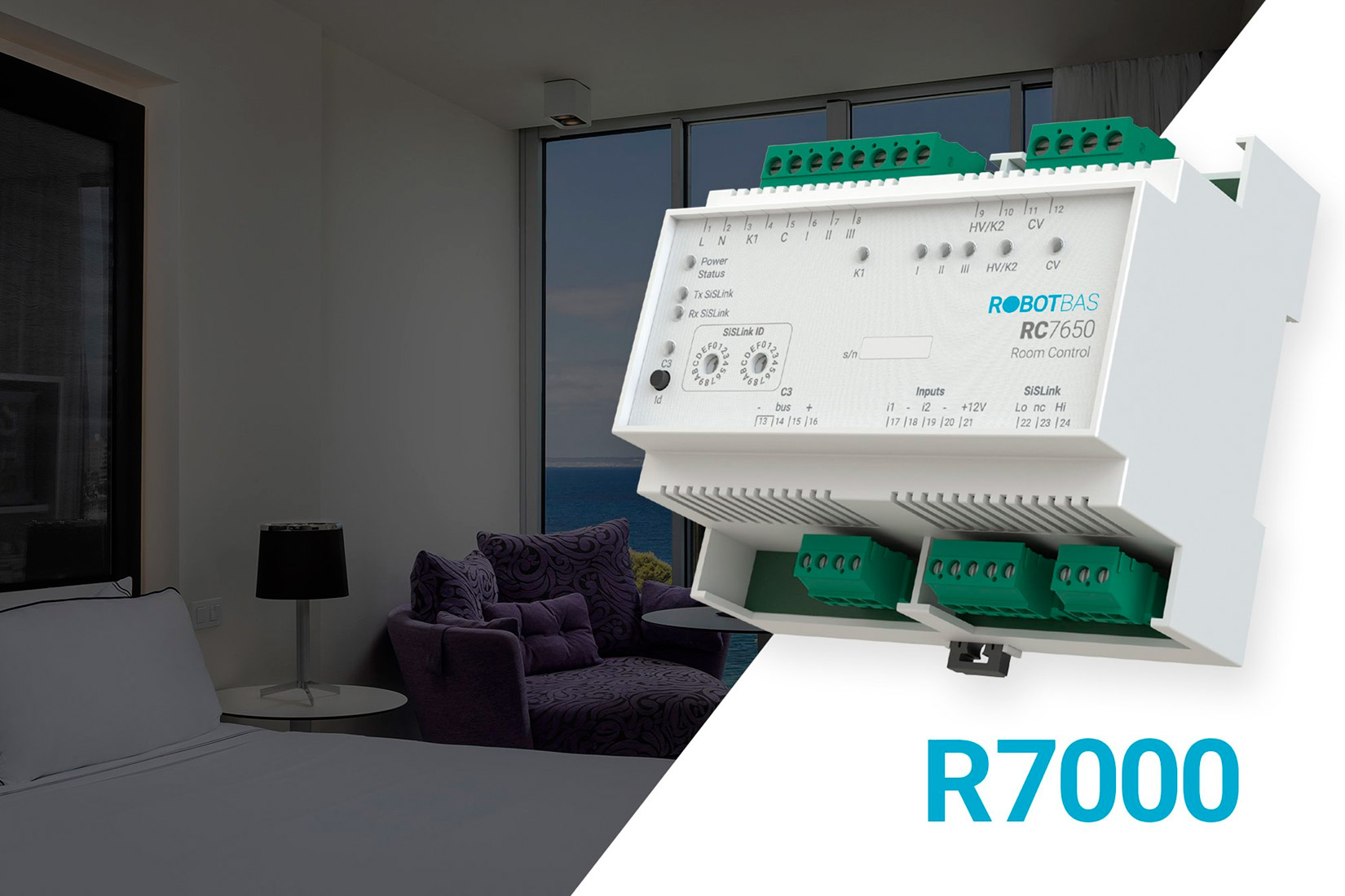Advantages of upgrading the R6000 series to the R7000 series of ROBOTBAS