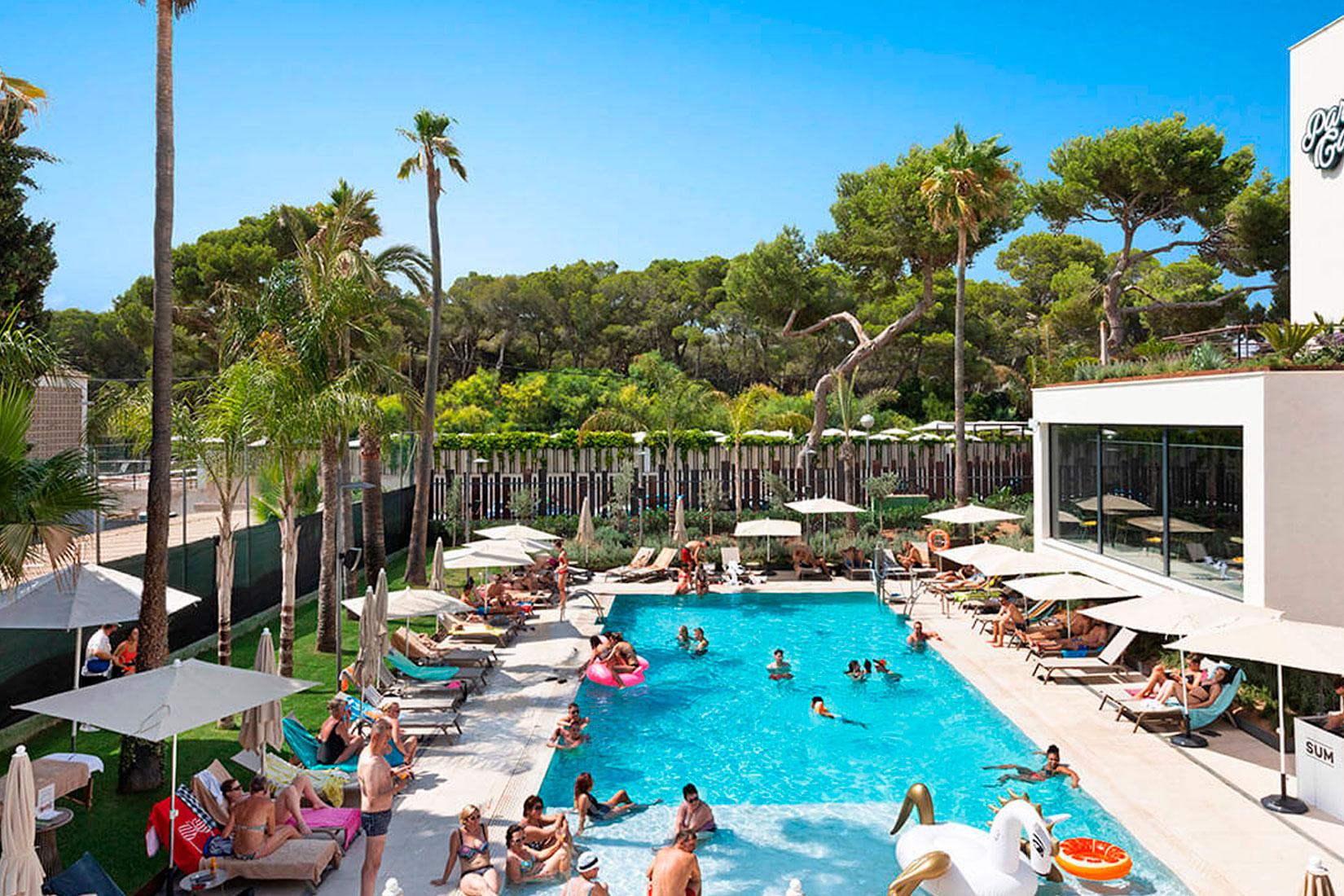 mac hotels paradiso garden con robotbas