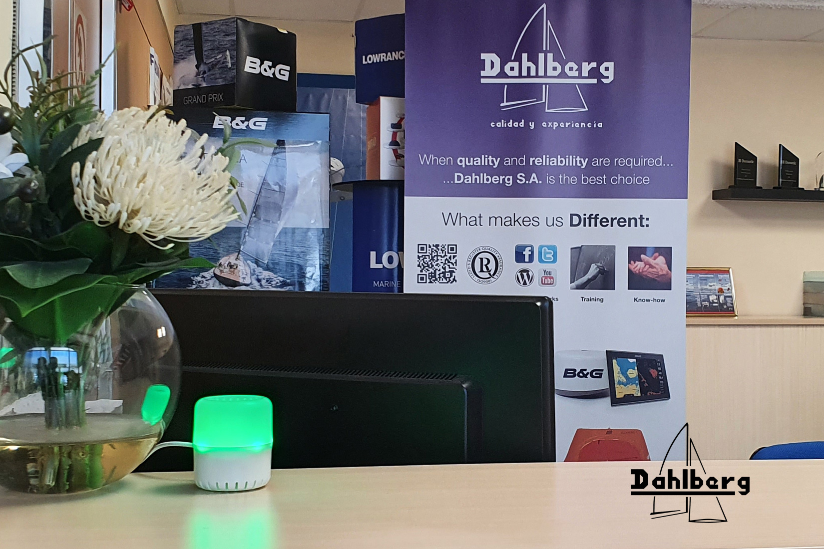 Dahlberg monitoriza el aire con Airea